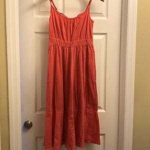 Theory coral dress